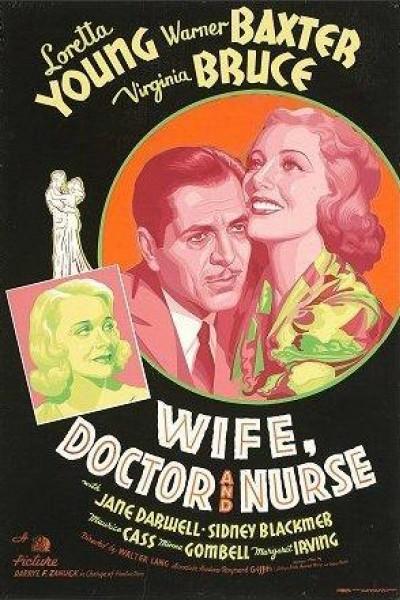 Caratula, cartel, poster o portada de Esposa, doctor y enfermera