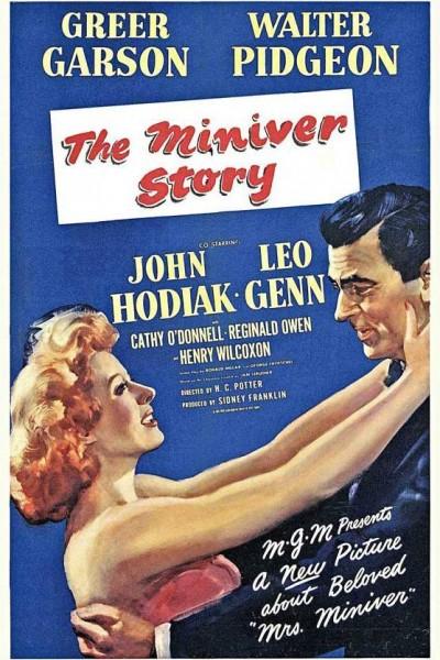 Caratula, cartel, poster o portada de La historia de los Miniver