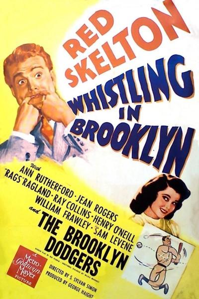 Caratula, cartel, poster o portada de Whistling in Brooklyn