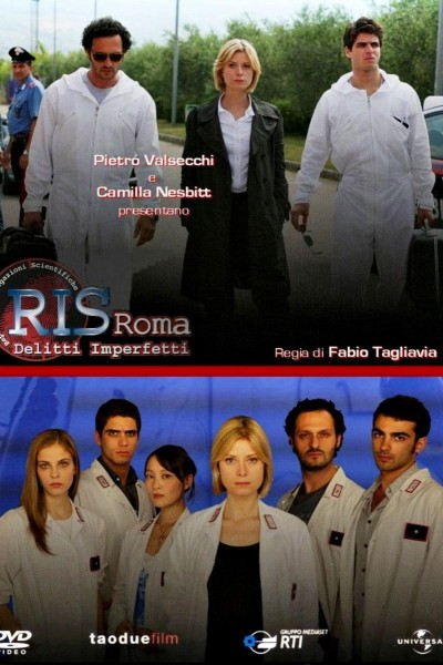 Caratula, cartel, poster o portada de R.I.S. Roma - Delitti imperfetti