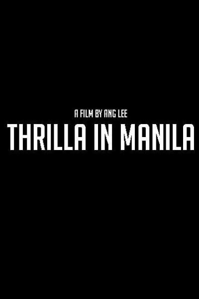 Caratula, cartel, poster o portada de Thrilla in Manila