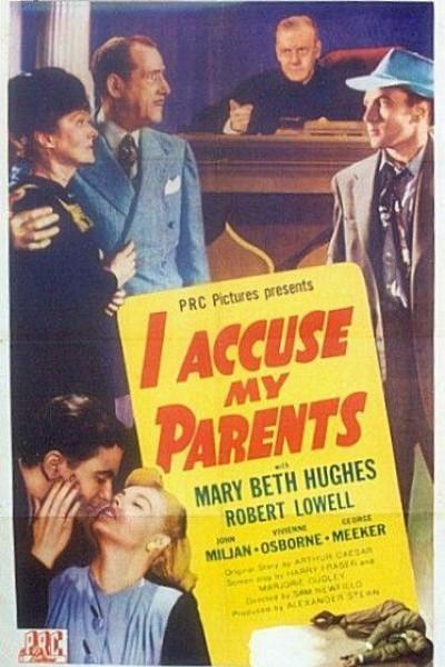 Caratula, cartel, poster o portada de I Accuse My Parents