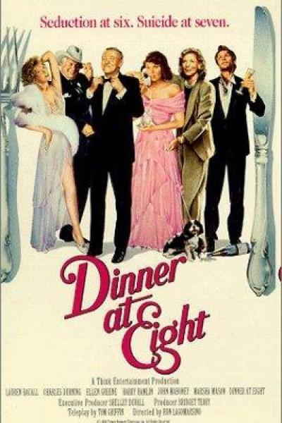 Caratula, cartel, poster o portada de Cena a las ocho