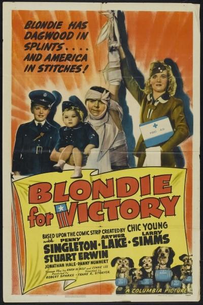 Caratula, cartel, poster o portada de Blondie for Victory