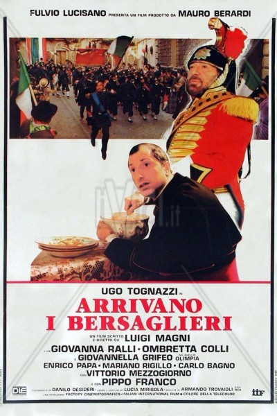 Caratula, cartel, poster o portada de Arrivano i bersaglieri