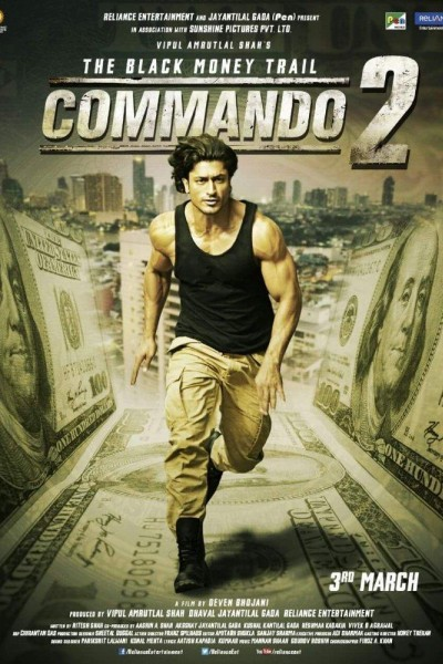 Caratula, cartel, poster o portada de Commando 2