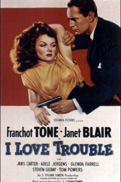 Caratula, cartel, poster o portada de I Love Trouble