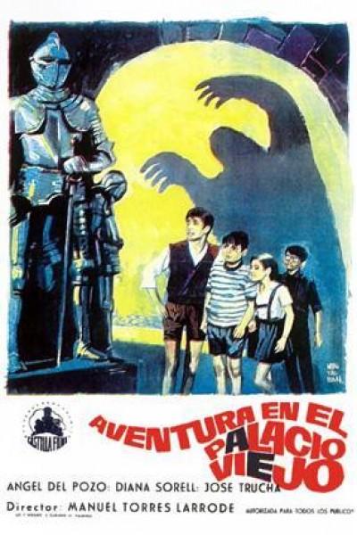Caratula, cartel, poster o portada de Aventura en el Palacio Viejo