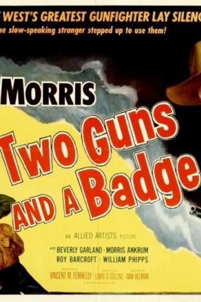 Caratula, cartel, poster o portada de Dos pistolas y una insignia