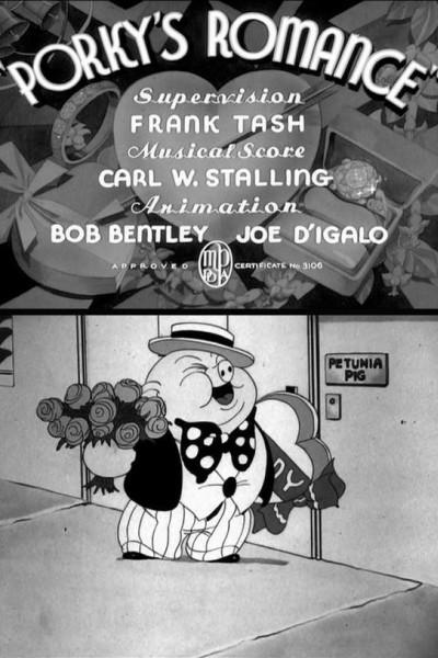 Caratula, cartel, poster o portada de Porky\'s Romance