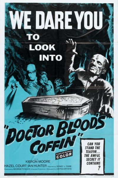 Caratula, cartel, poster o portada de Doctor Blood\'s Coffin