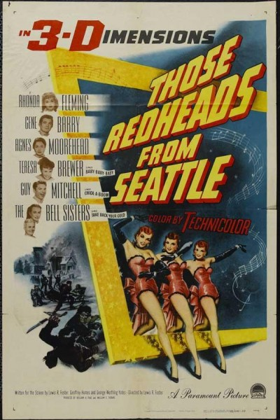 Caratula, cartel, poster o portada de Those Redheads from Seattle