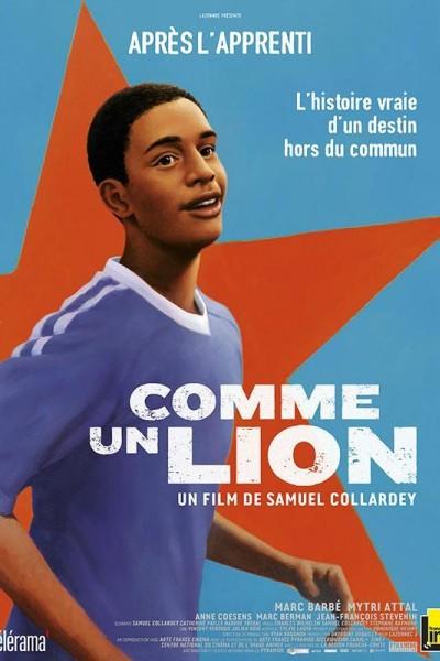 Caratula, cartel, poster o portada de Como un león