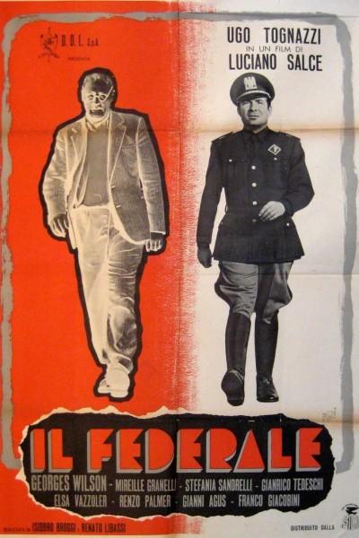 Caratula, cartel, poster o portada de El federal