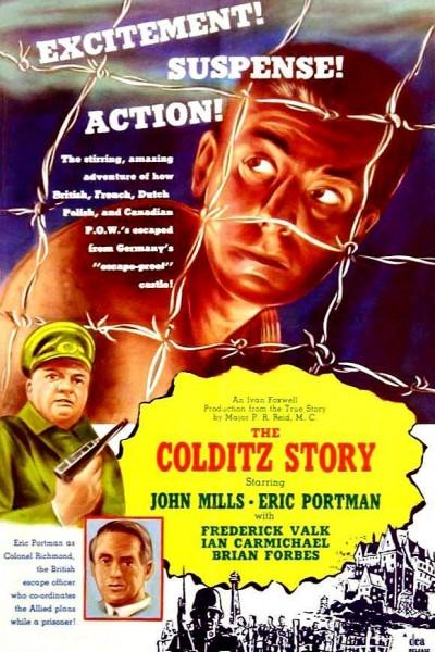 Caratula, cartel, poster o portada de La fuga de Colditz