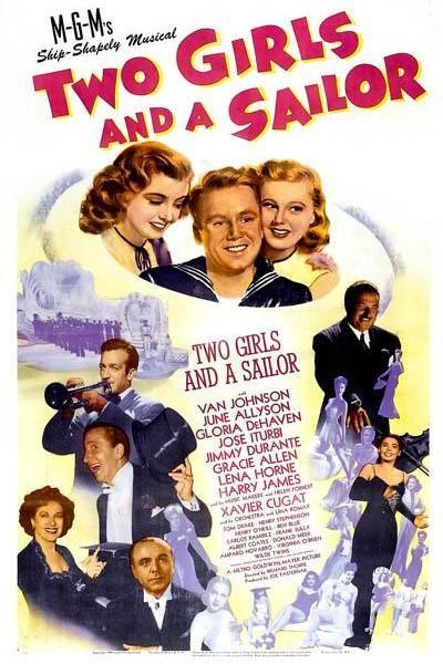Caratula, cartel, poster o portada de Dos chicas y un marinero
