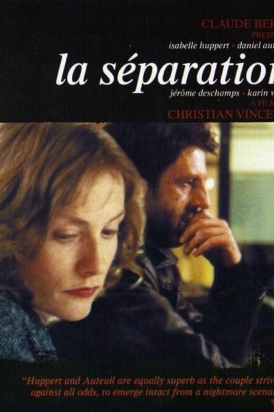 Caratula, cartel, poster o portada de La separación