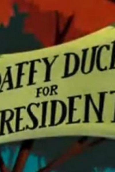 Caratula, cartel, poster o portada de Daffy Duck for President