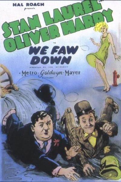 Caratula, cartel, poster o portada de We Faw Down