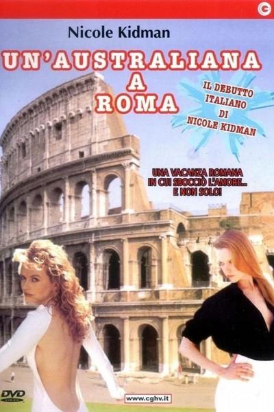 Caratula, cartel, poster o portada de Una australiana en Roma