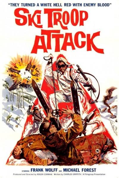 Caratula, cartel, poster o portada de Ski Troop Attack