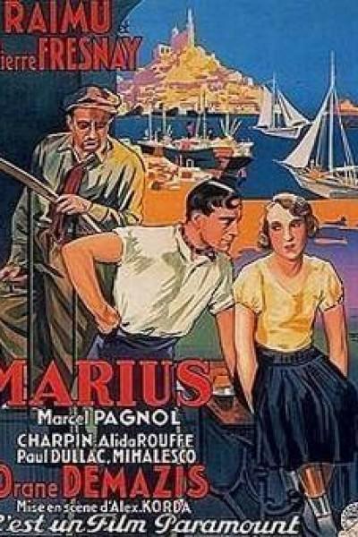 Caratula, cartel, poster o portada de Marius