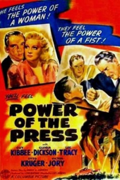 Caratula, cartel, poster o portada de Power of the Press