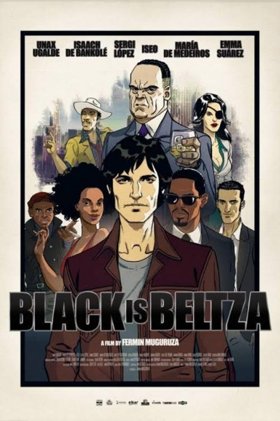 Caratula, cartel, poster o portada de Black is Beltza