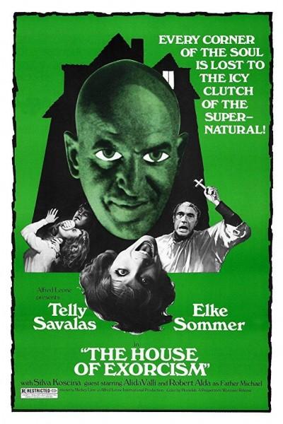 Caratula, cartel, poster o portada de La casa del exorcismo