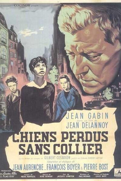 Caratula, cartel, poster o portada de Chiens perdus sans collier