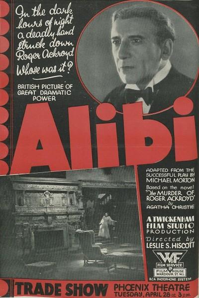Caratula, cartel, poster o portada de Alibi