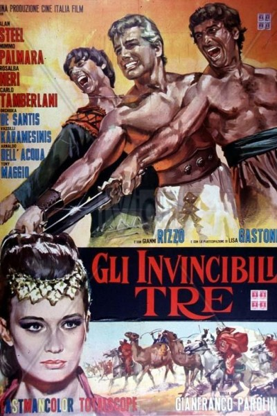 Caratula, cartel, poster o portada de Ursus: Los tres invencibles