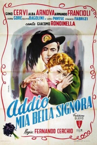 Caratula, cartel, poster o portada de Addio mia bella signora