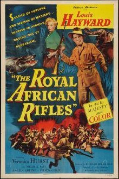 Caratula, cartel, poster o portada de Los fusileros reales de África