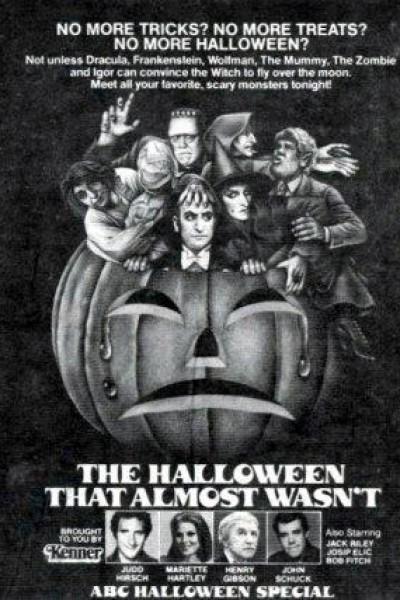 Caratula, cartel, poster o portada de The Halloween That Almost Wasn\'t