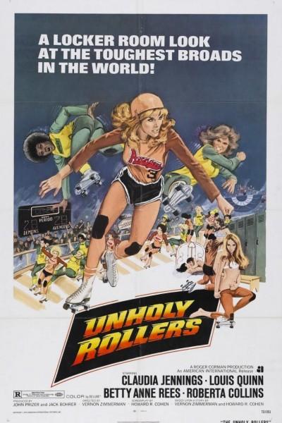 Caratula, cartel, poster o portada de Las violentas del Rollerball