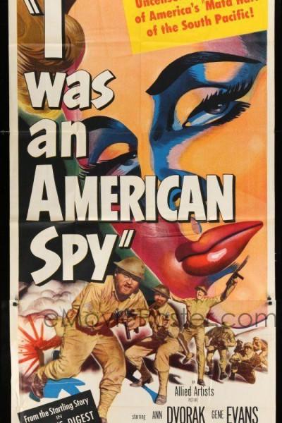 Caratula, cartel, poster o portada de Yo fui espía americana