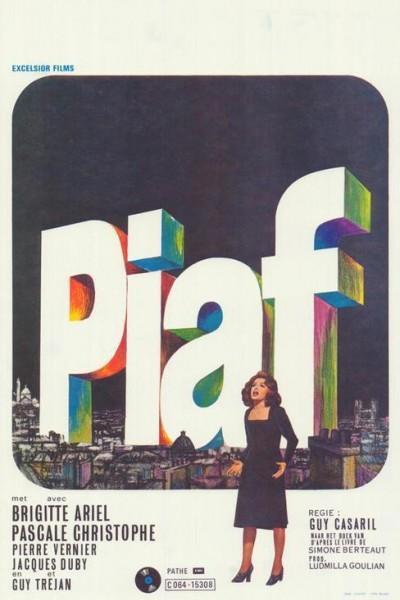 Caratula, cartel, poster o portada de Una voz llamada Edith Piaf
