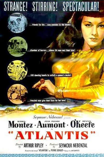 Caratula, cartel, poster o portada de La Atlántida