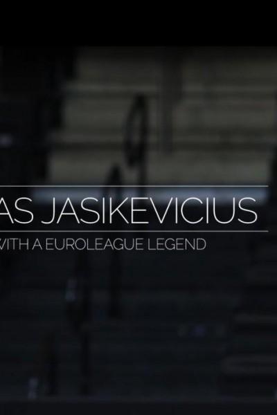 Caratula, cartel, poster o portada de Un día con una leyenda de la Euroliga: Sarunas Jasikevicius