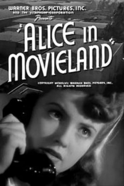 Caratula, cartel, poster o portada de Alice in Movieland