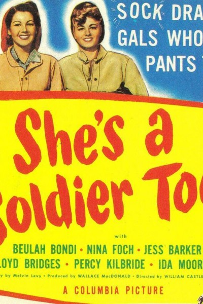 Caratula, cartel, poster o portada de She\'s a Soldier Too
