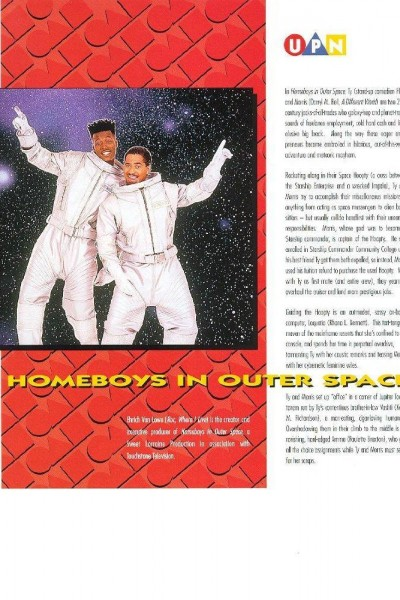 Caratula, cartel, poster o portada de Homeboys in Outer Space