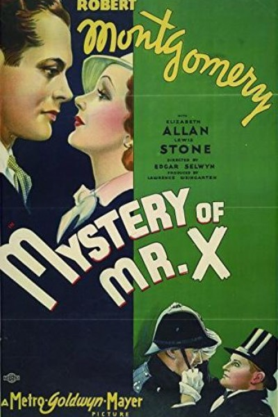 Caratula, cartel, poster o portada de El misterioso Sr. X