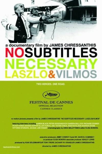 Caratula, cartel, poster o portada de No Subtitles Necessary: László & Vilmos