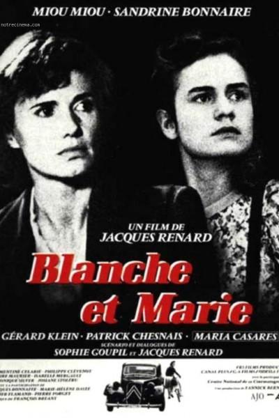 Caratula, cartel, poster o portada de Blanche y Marie