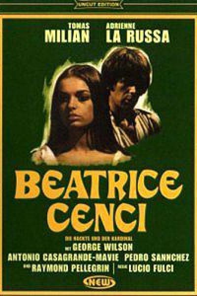 Caratula, cartel, poster o portada de La verdadera historia de Beatrice Cenci