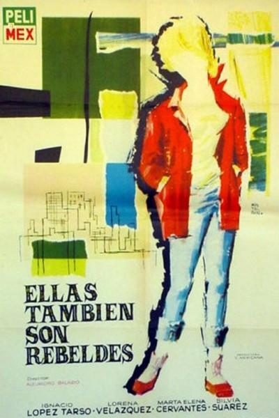 Caratula, cartel, poster o portada de Ellas también son rebeldes
