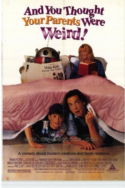 Caratula, cartel, poster o portada de Y tú creías que tus padres eran raros