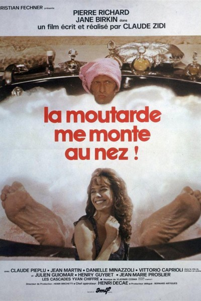 Caratula, cartel, poster o portada de La mostaza se sube a la nariz